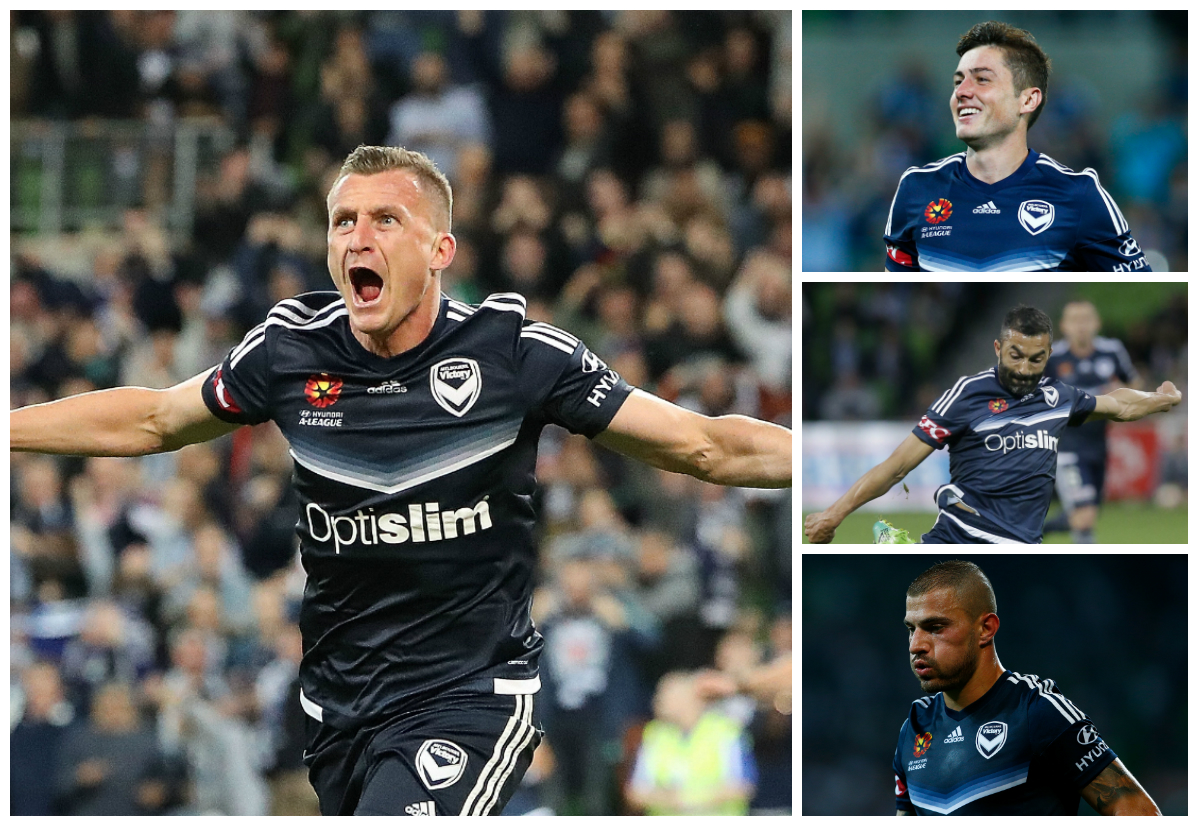 Besart Berisha Marco Rojas Fahid Ben Khalfallah James Troisi Melbourne Victory A-League