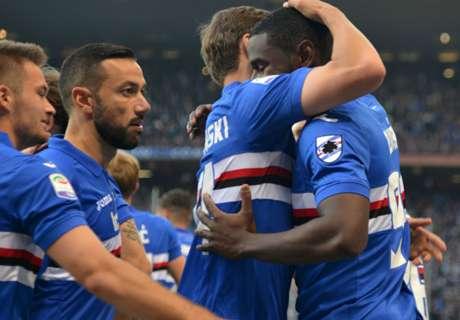 Juventus blamiert sich gegen Sampdoria