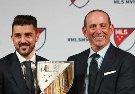 Villa, MVP de la MLS