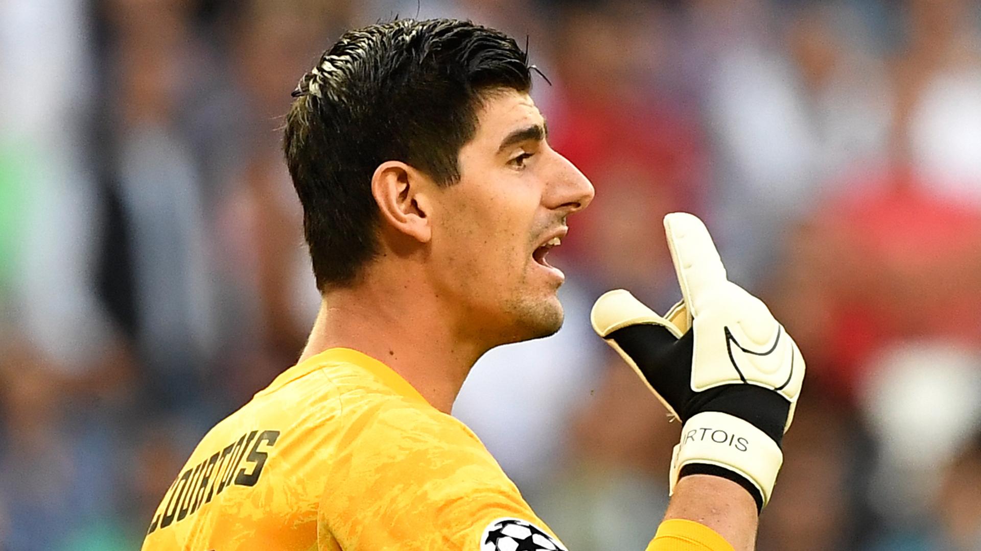 """Real Madrid, Courtois """"n'a pas de problème d'anxiété"""" selon Martinez"""