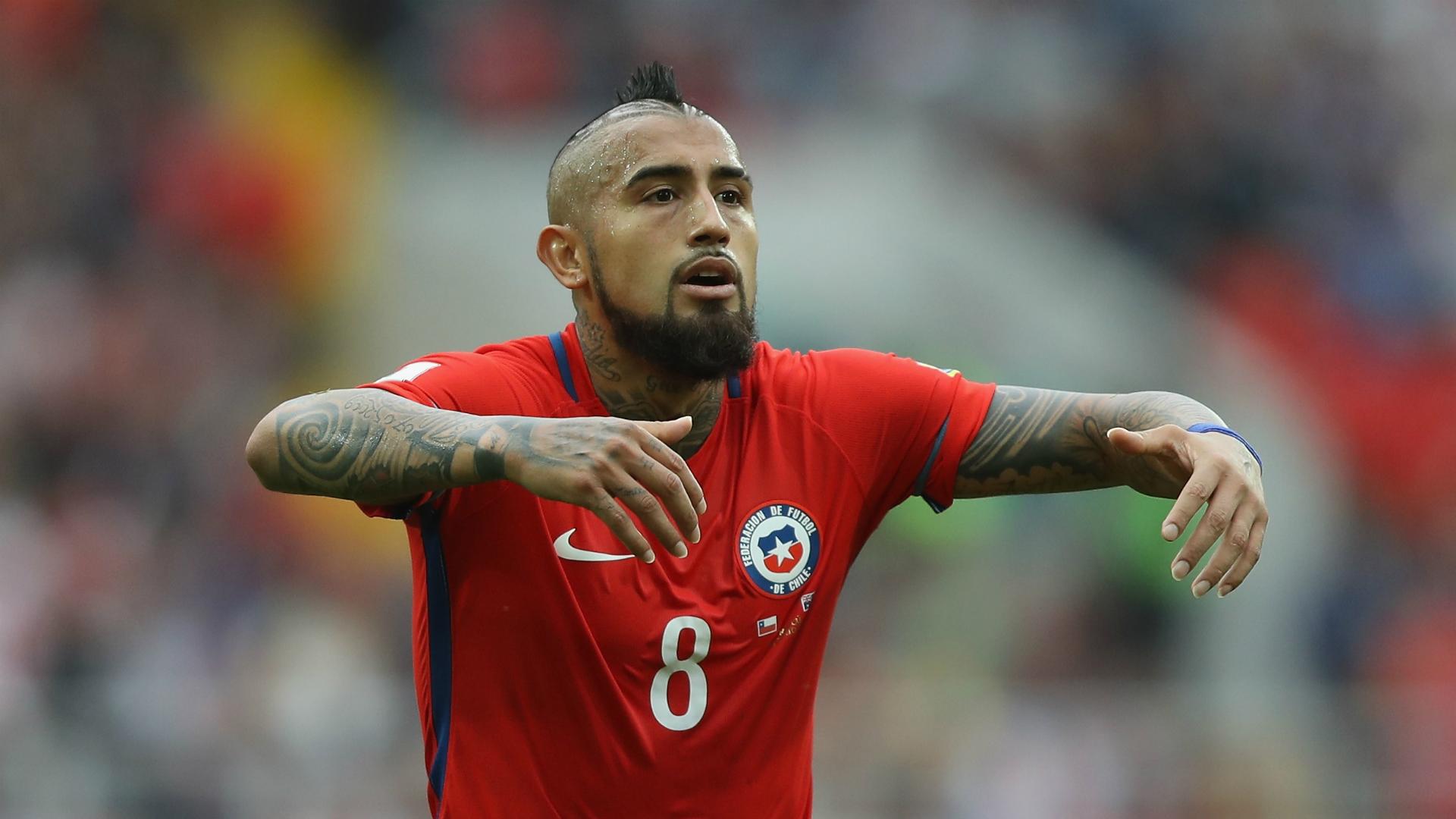 Arturo Vidal Chile FIFA Confederations Cup 2017