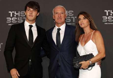 France's Deschamps wins Best Coach award