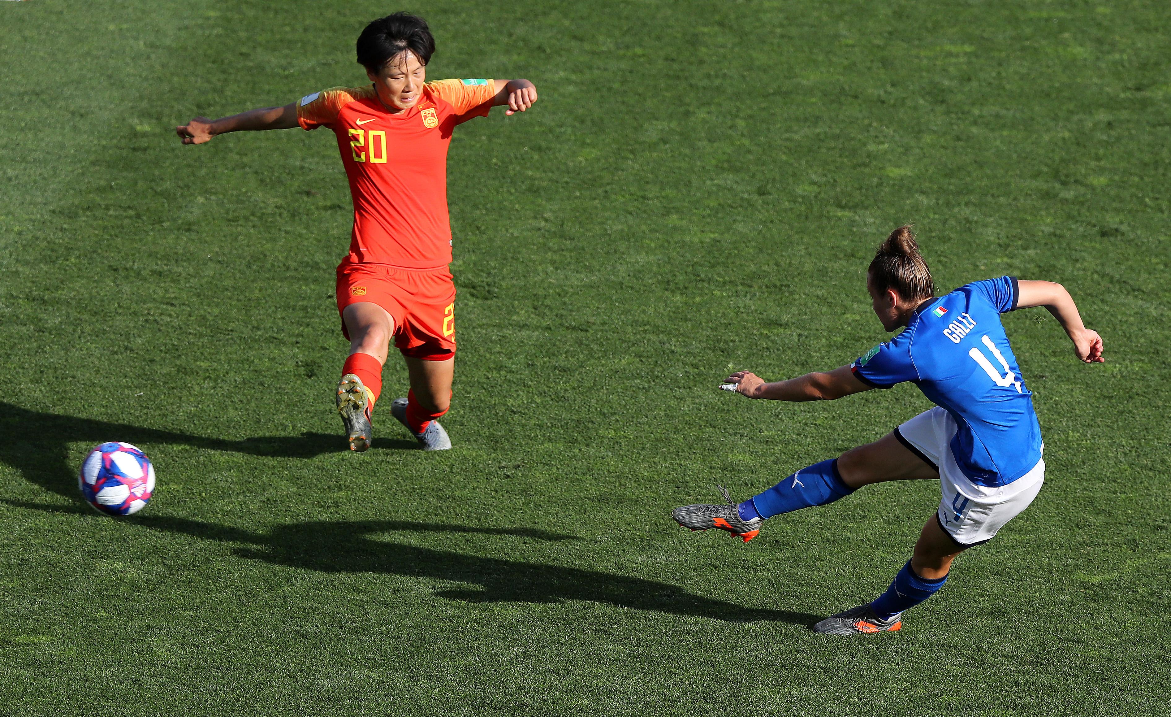 Coupe du monde féminine - Italie-Chine (2-0) : L'Italie ne tremble pas et se qualifie en quarts de finale