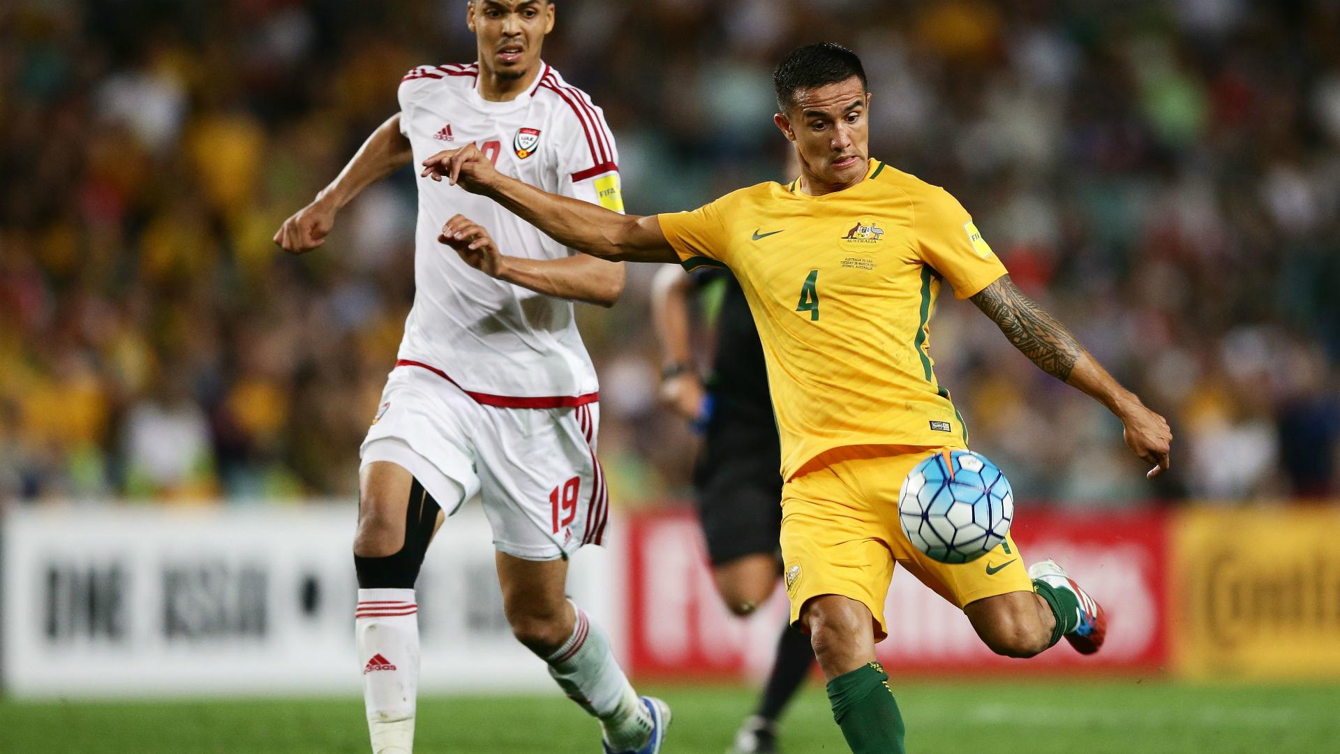 Tim Cahill Australia v United Arab Emirates World Cup qualifying 28032017