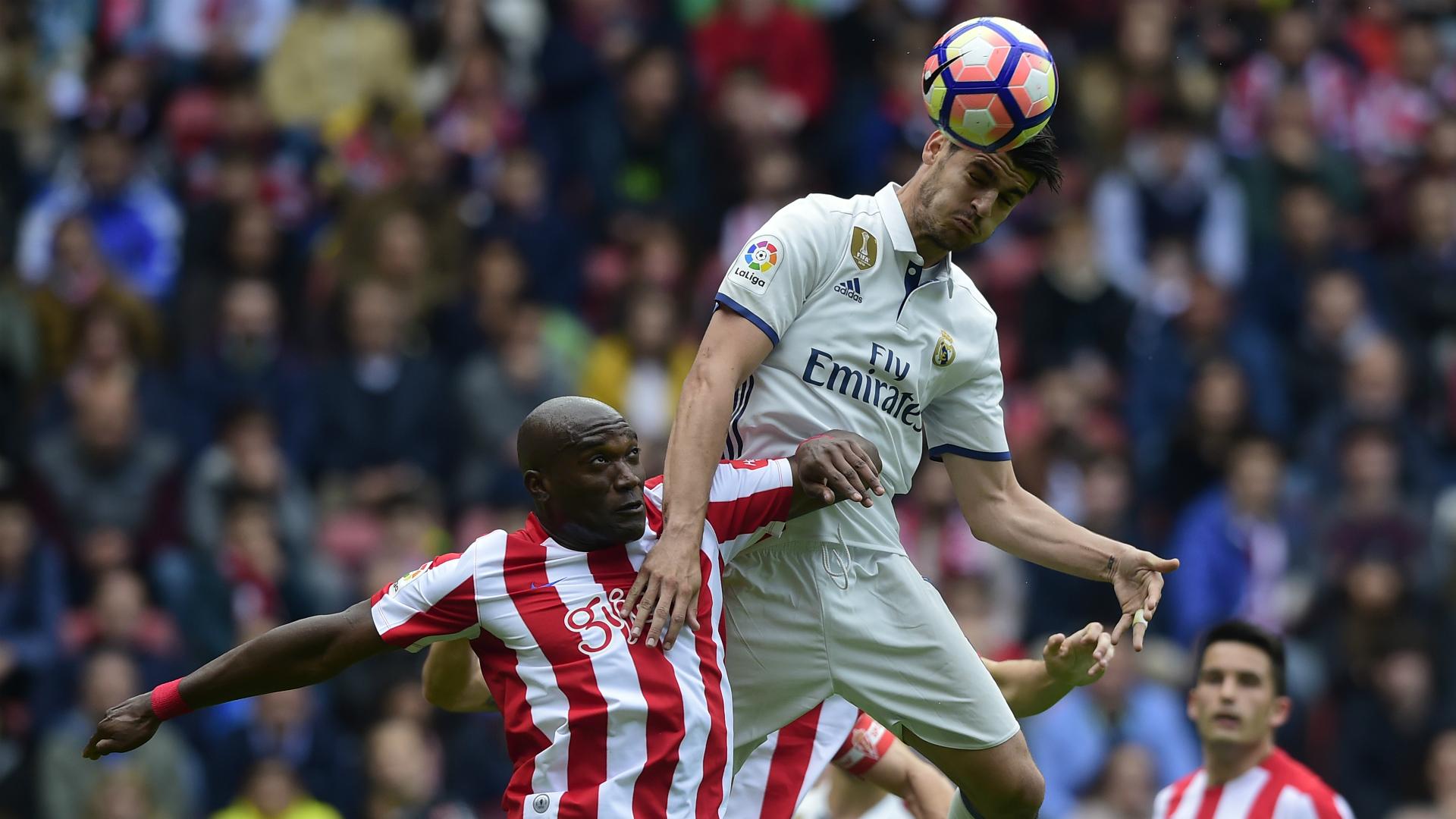Alvaro Morata Sporting Gijon Real Madrid La Liga