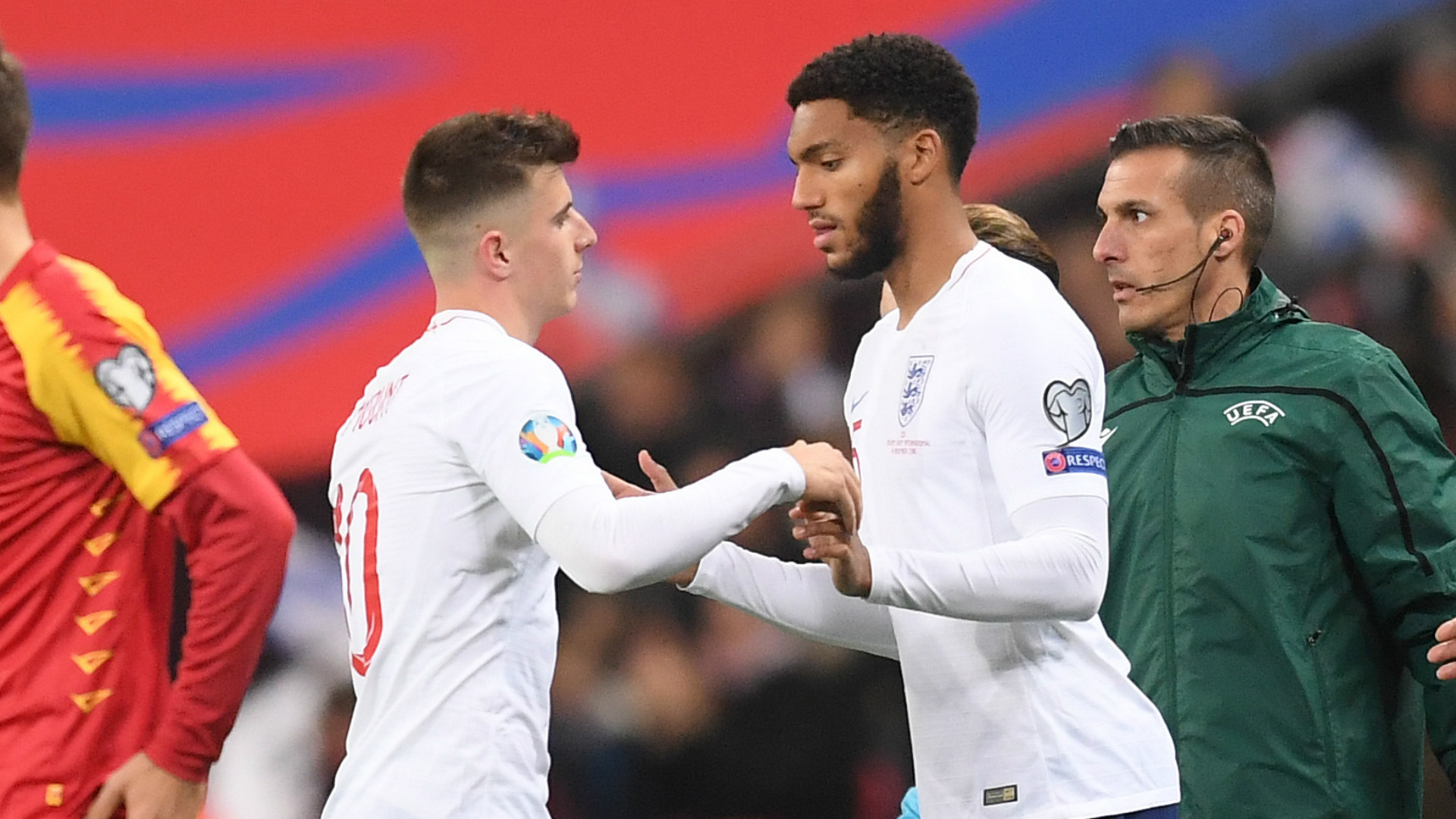 Gomez booed by section of England fans after Sterling bust-up