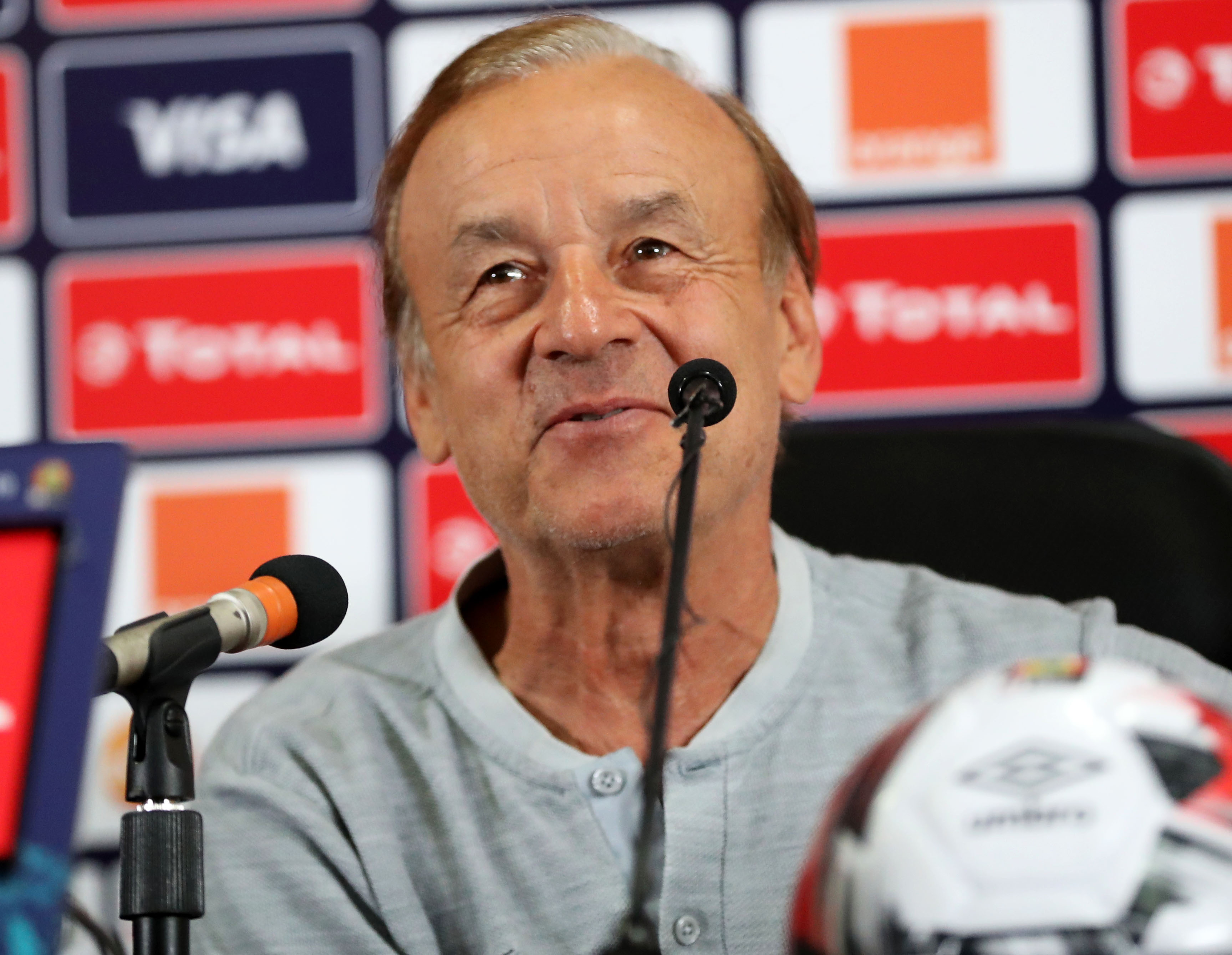 Nigeria coach Rohr satisfied with Ukraine draw