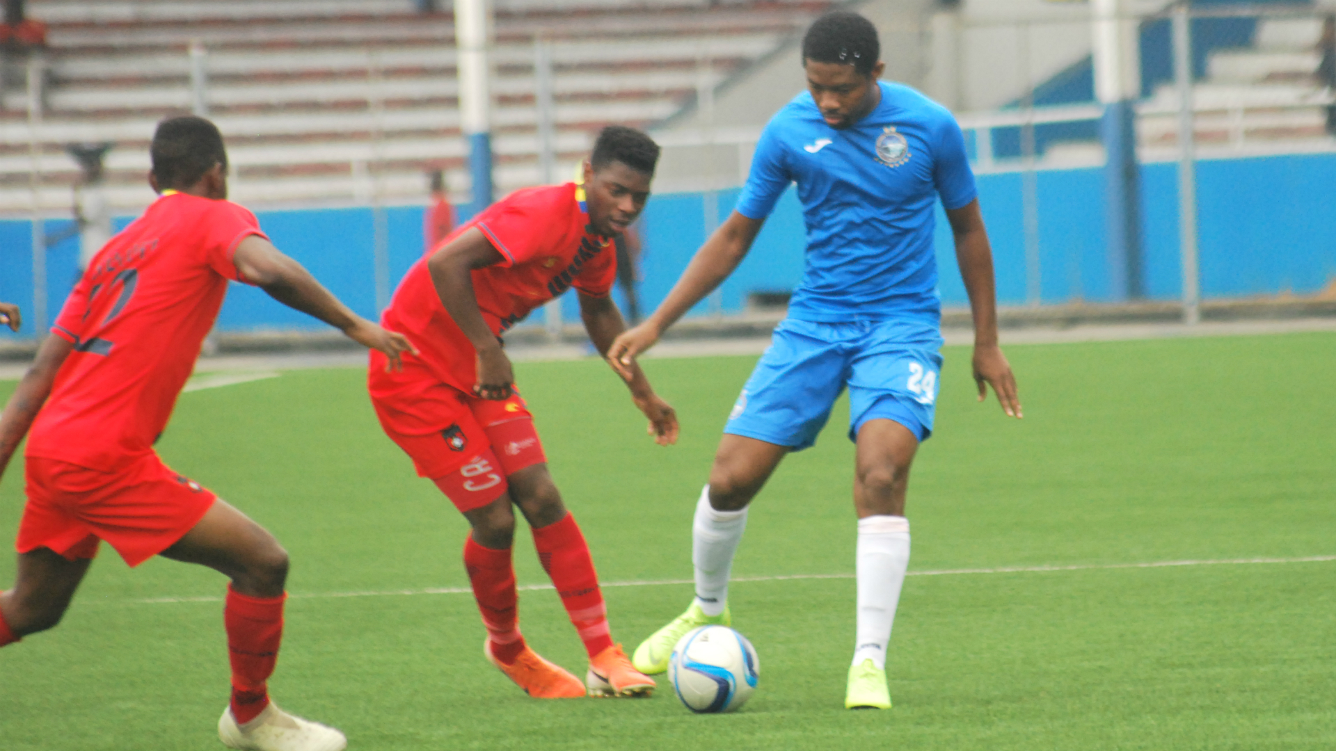Caf Confederation Cup: TS Galaxy 1-2 Enyimba: People's Elephant stampede into group stage