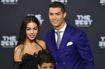 Cristiano Ronaldo cozies up to Georgina Rodriguez in rare Instagram post