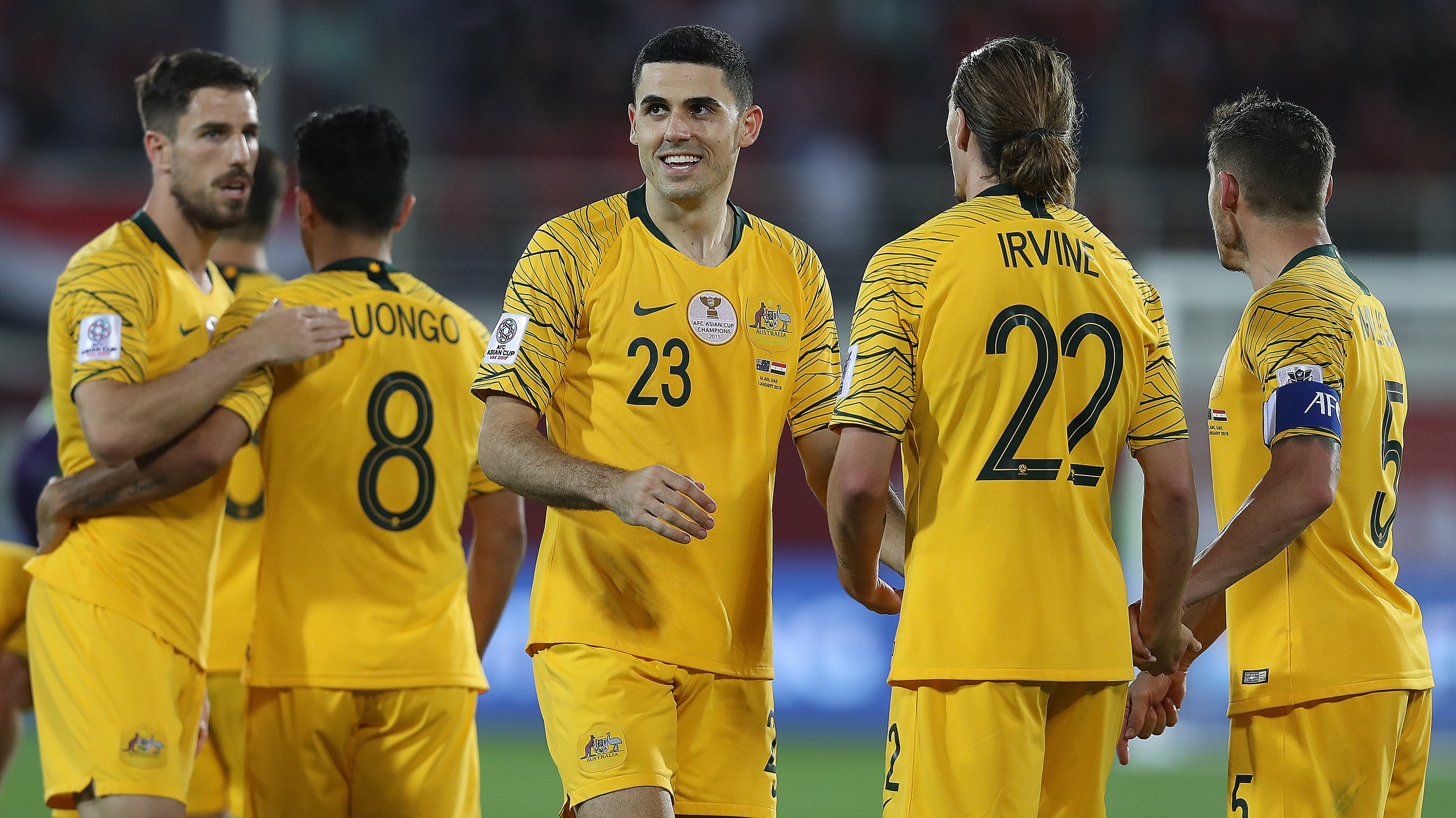 Socceroos stars 'relieved' to avoid friendly call-up