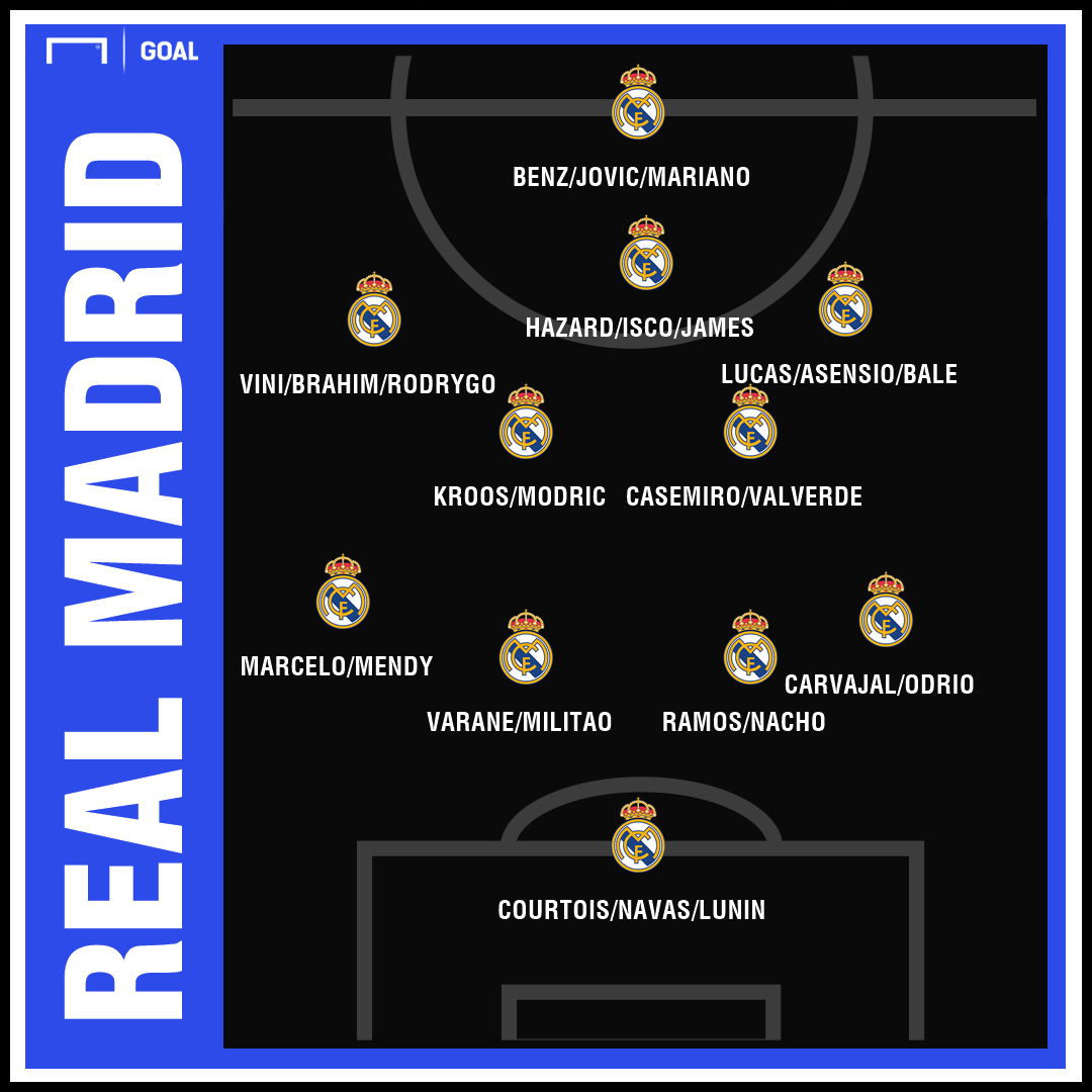 Zidane s'abonne au 4-4-1-1 pour le Real Madrid