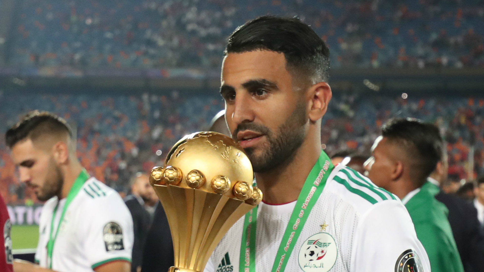 Algeria coach Belmadi praises Mahrez's role at Afcon 2019