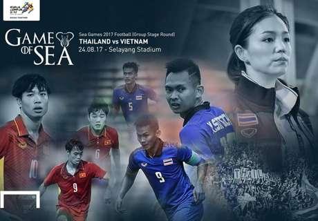 SEA Games 2017 (กลุ่ม บี) : ไทย - เวียดนาม