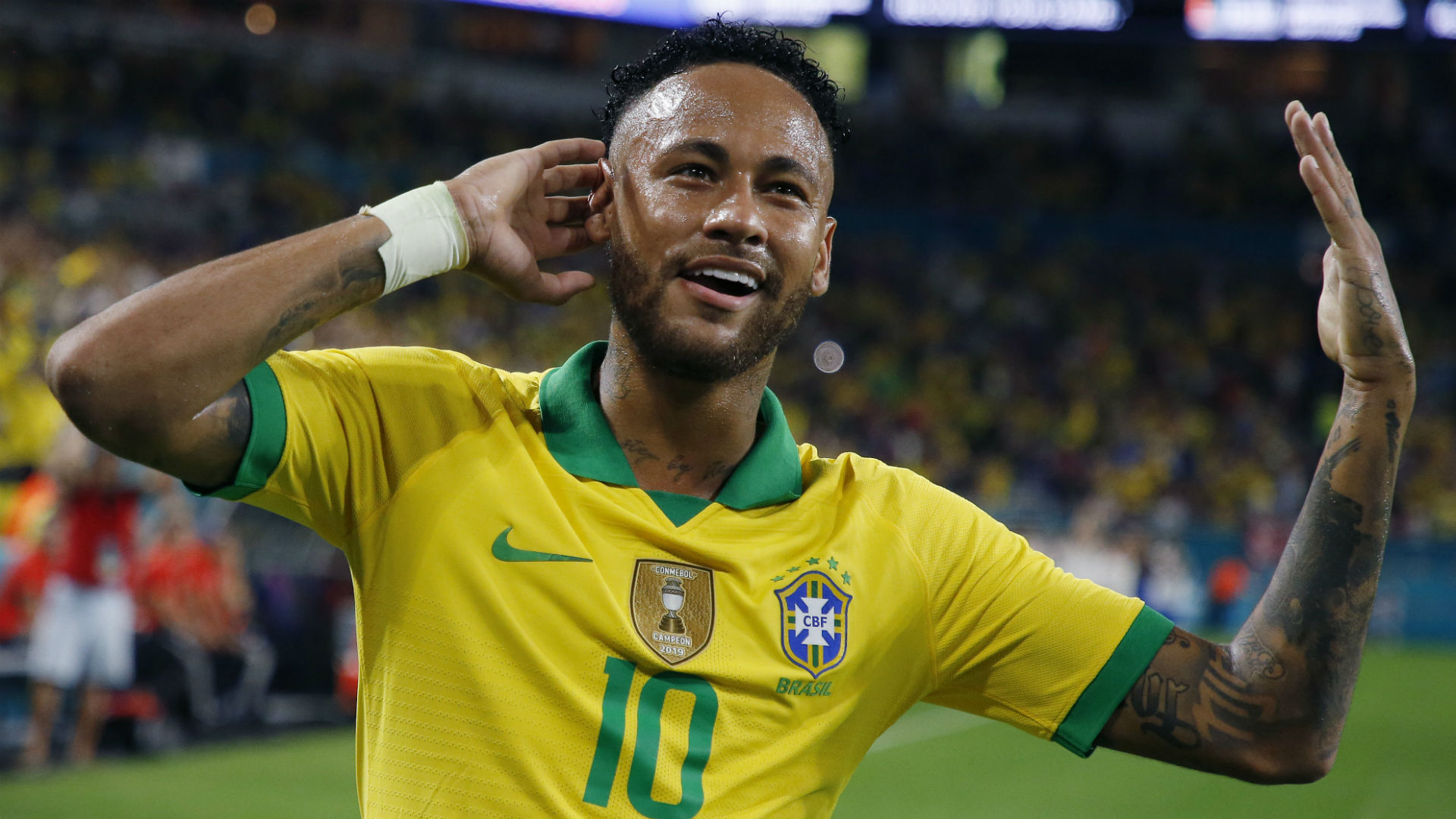 'It's always a joy to have Neymar' - PSG star's Brazil comeback delights Dani Alves
