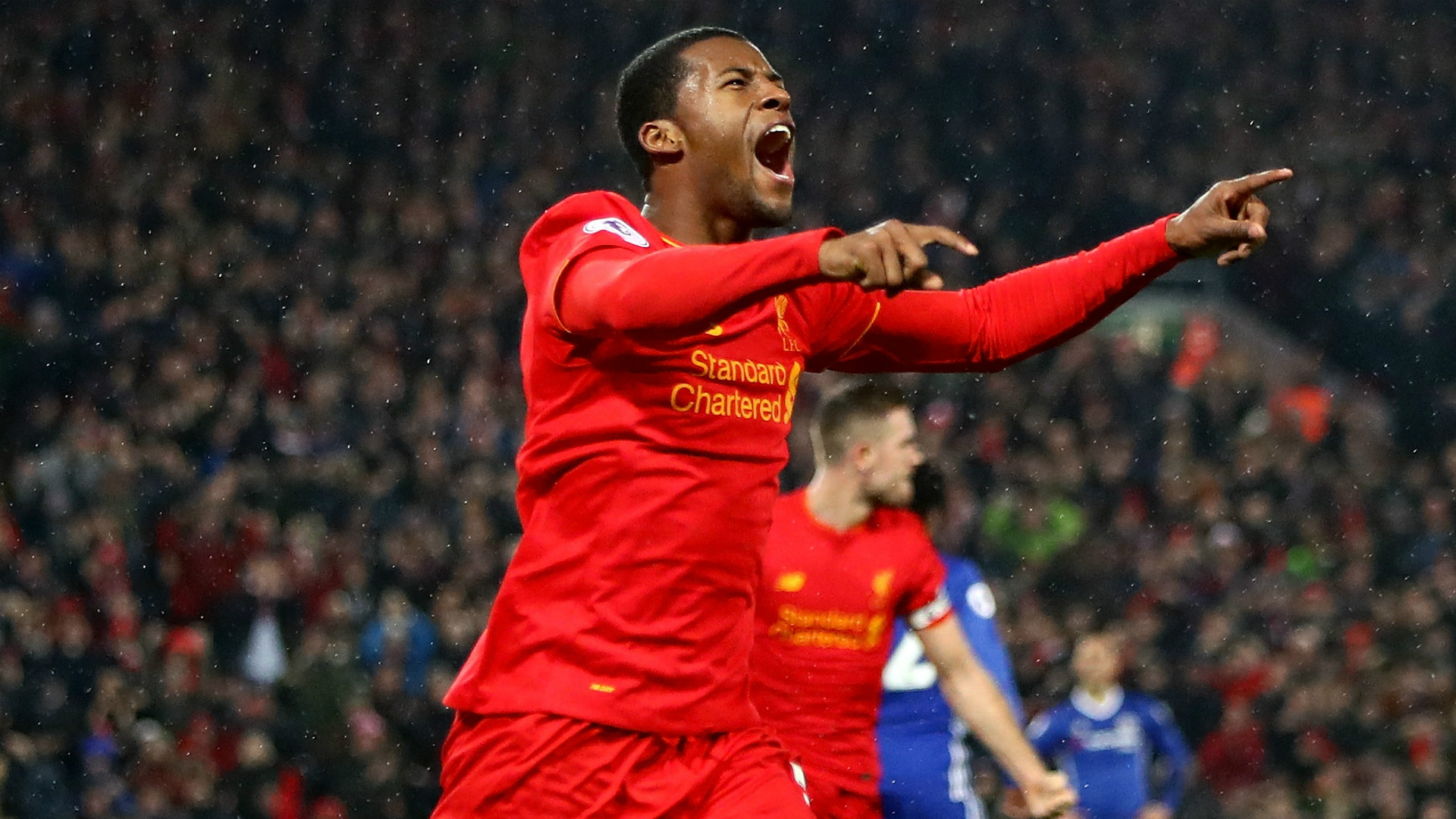 HD Wijnaldum Liverpool celebrate