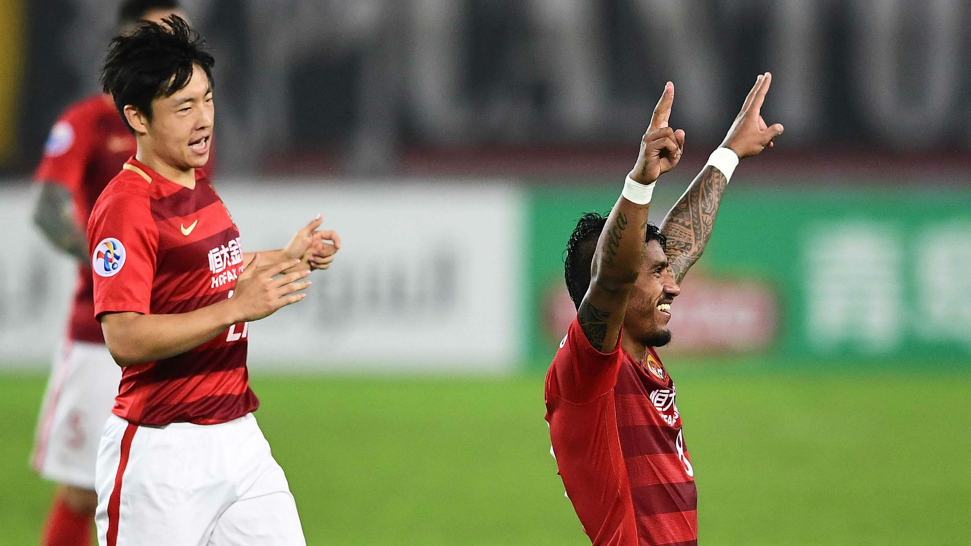Paulinho Zheng Long Guangzhou Evergrande AFC Champions League