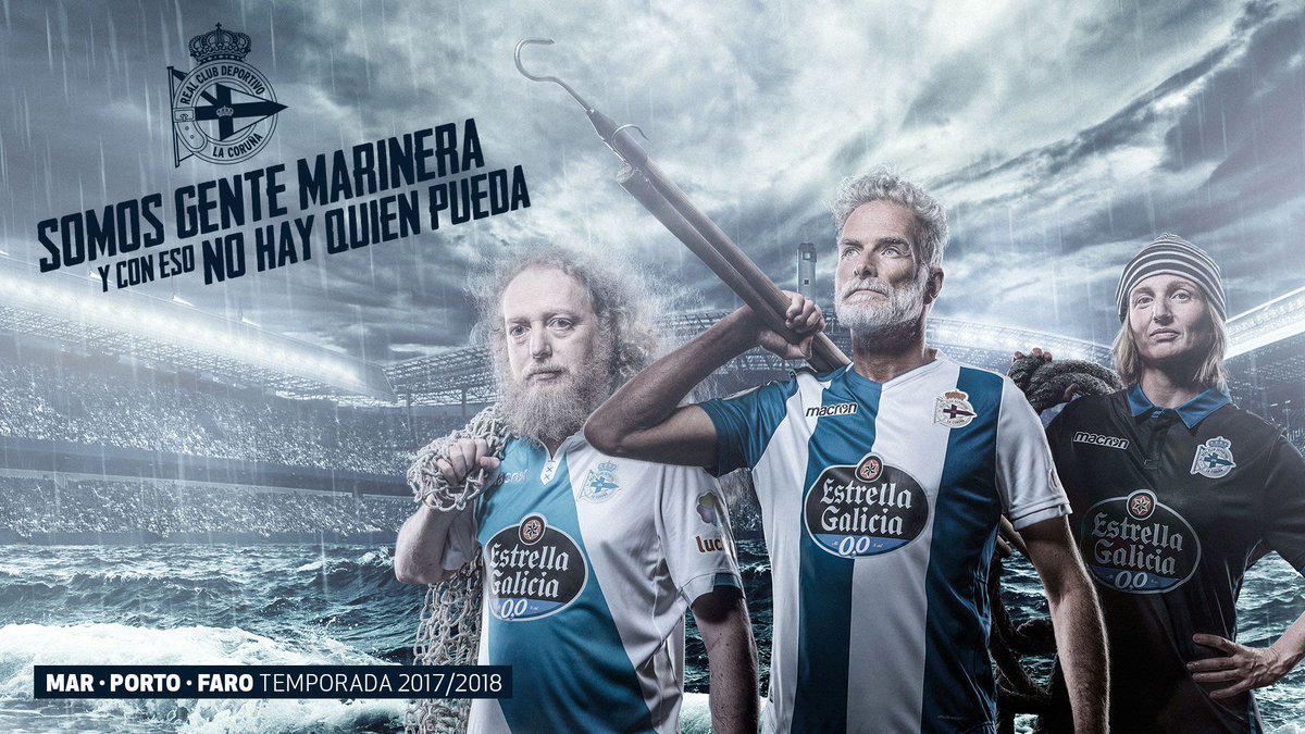 Kit Deportivo de La Coruña 2017-18