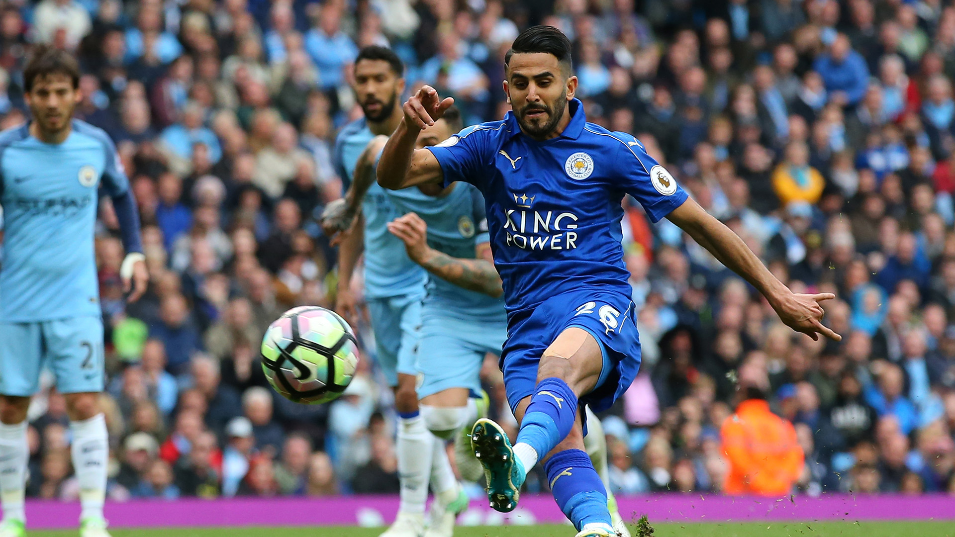 Mahrez's Champions League ambitions no problem for Shakespeare