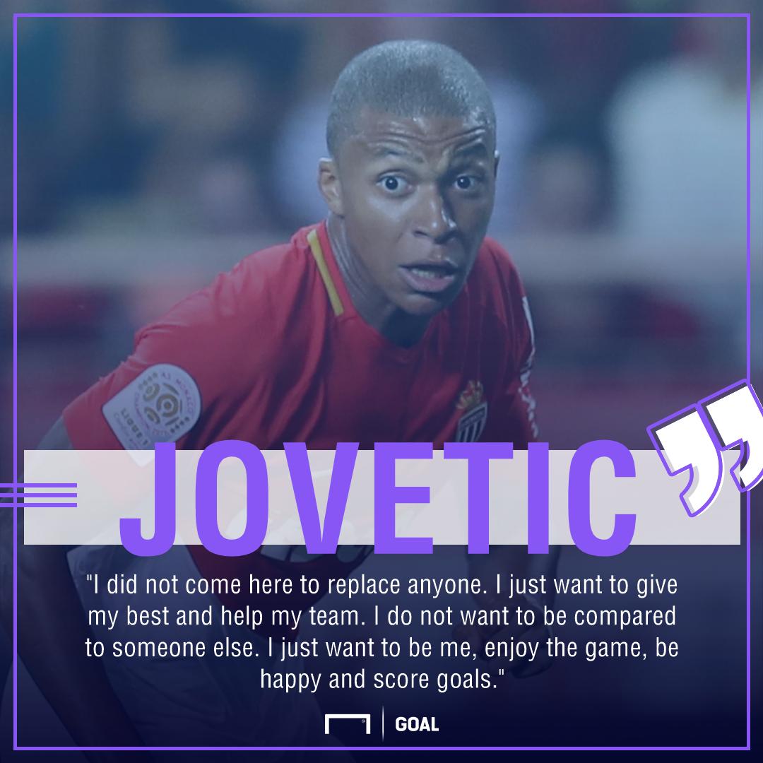 Stevan Jovetic Kylian Mbappe Monaco