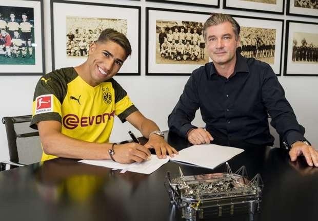 Officiel - Le Borussia Dortmund accueille Achraf Hakimi en prêt pour deux saisons