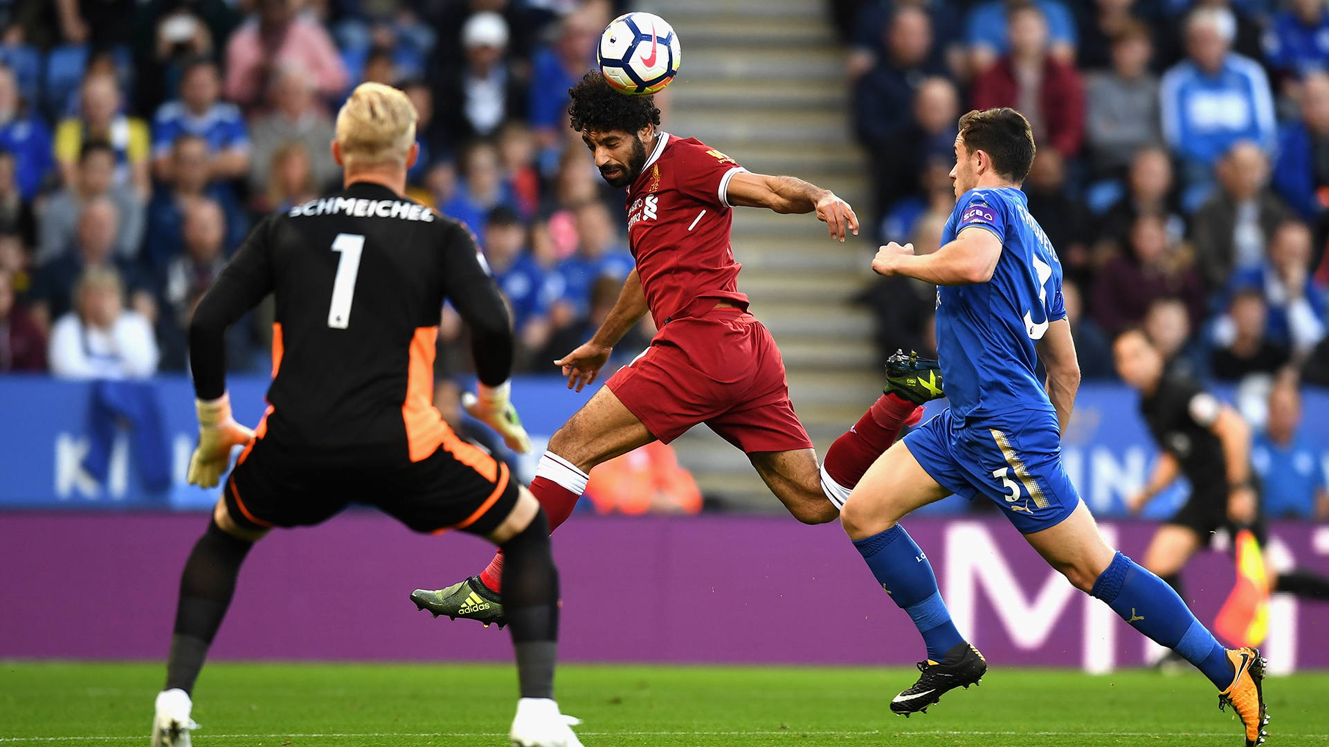 Mohamed Salah Liverpool Leicester
