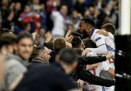 Lyon Menang Dramatis Atas Besiktas