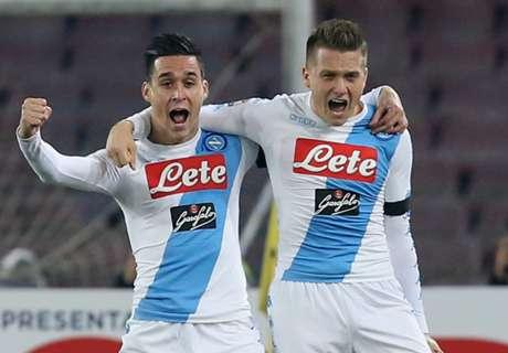 Napoli-Inter 3-0: Azzurri sul velluto