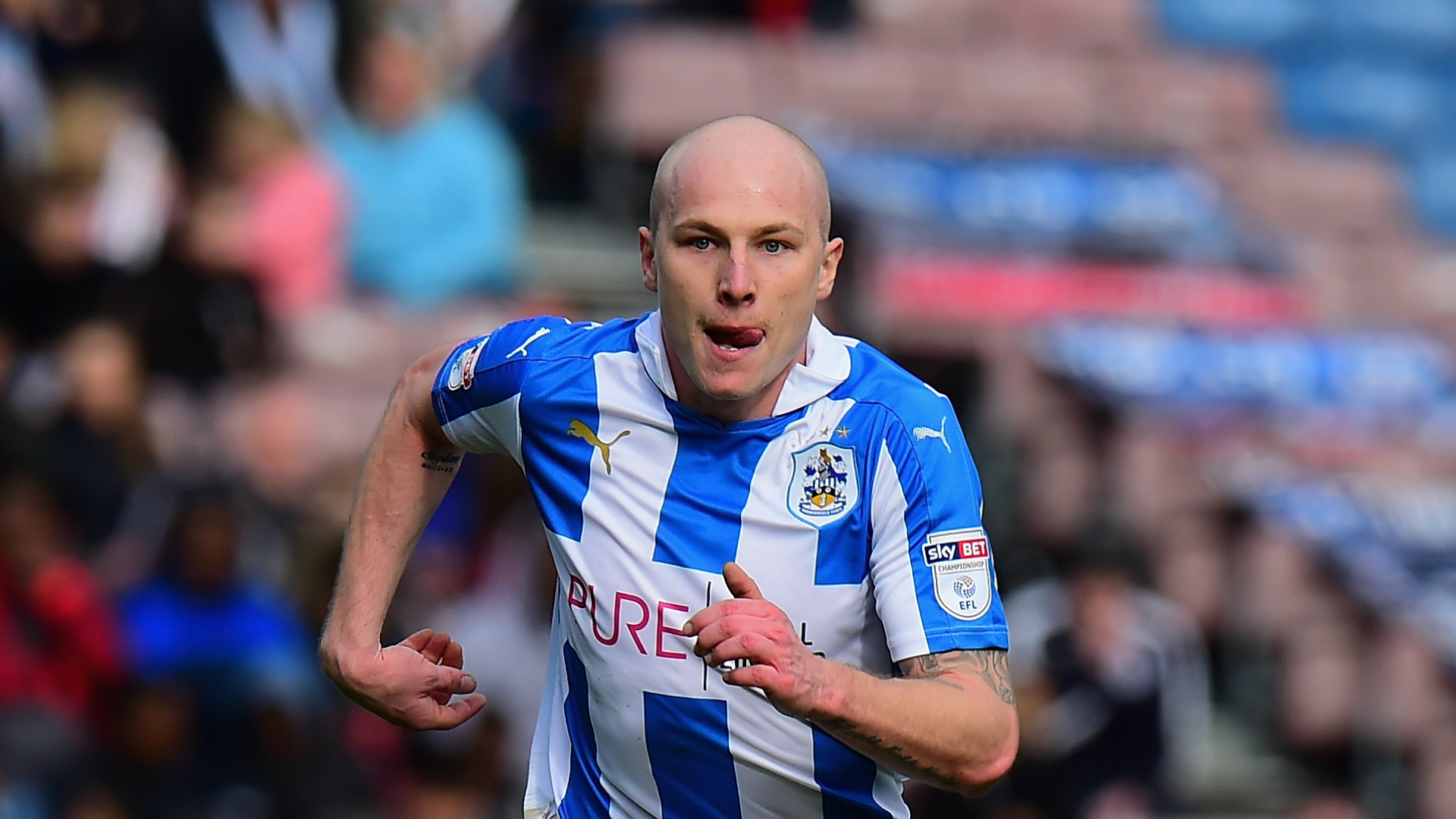 Aaron Mooy Huddersfield Town v Burton Albion Championship 01042017