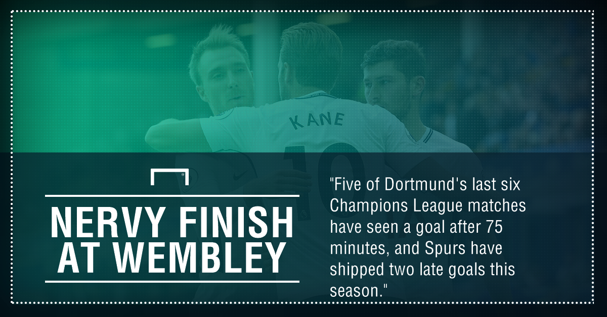 Spurs Dortmund graphic