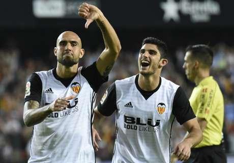 Valencia wint overtuigend van Sevilla