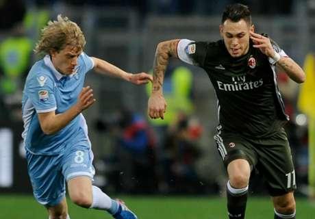 Milan grab point against Lazio