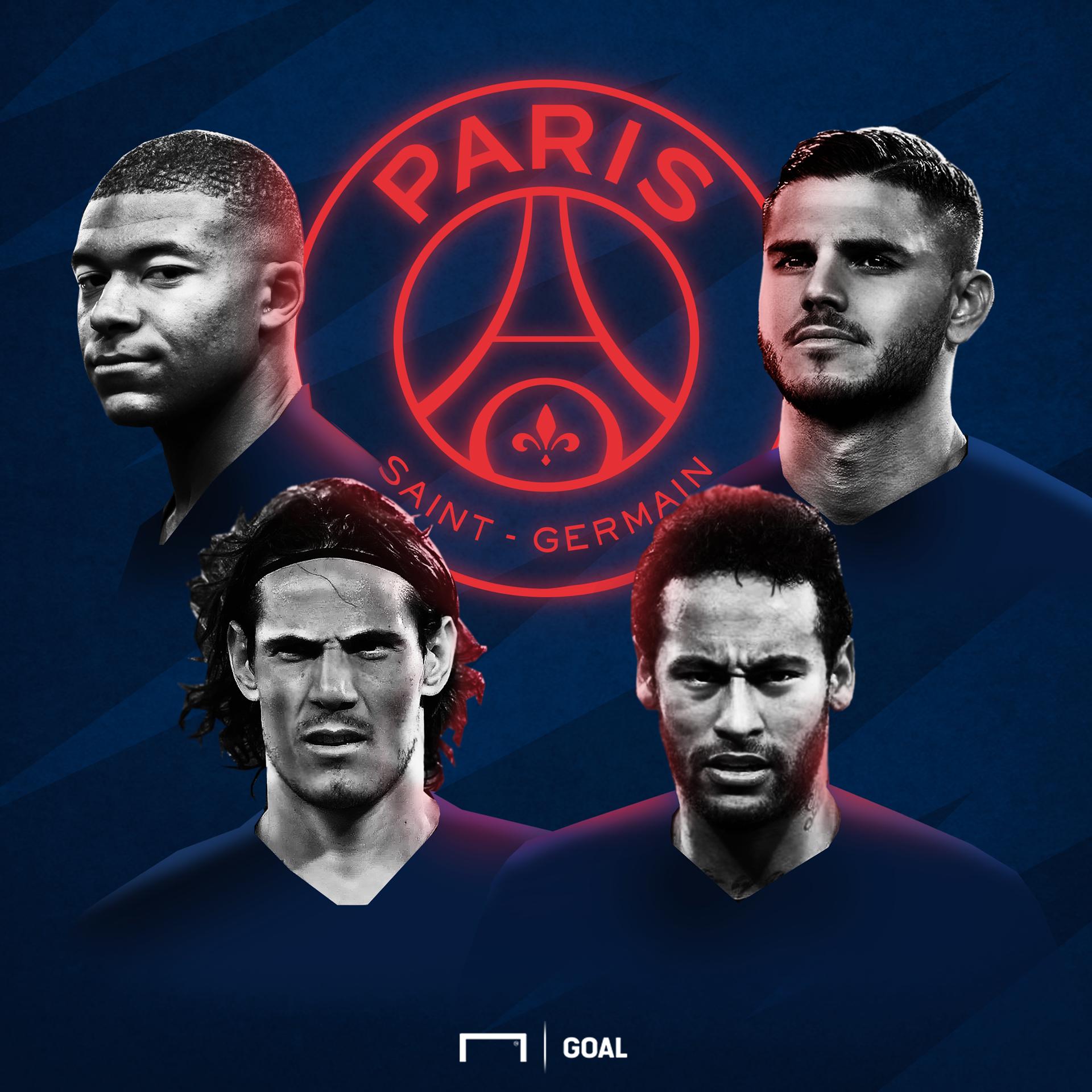 Malgré Neymar, Mbappé, Cavani et Icardi, le PSG ne possède pas la meilleure attaque d'Europe selon vous