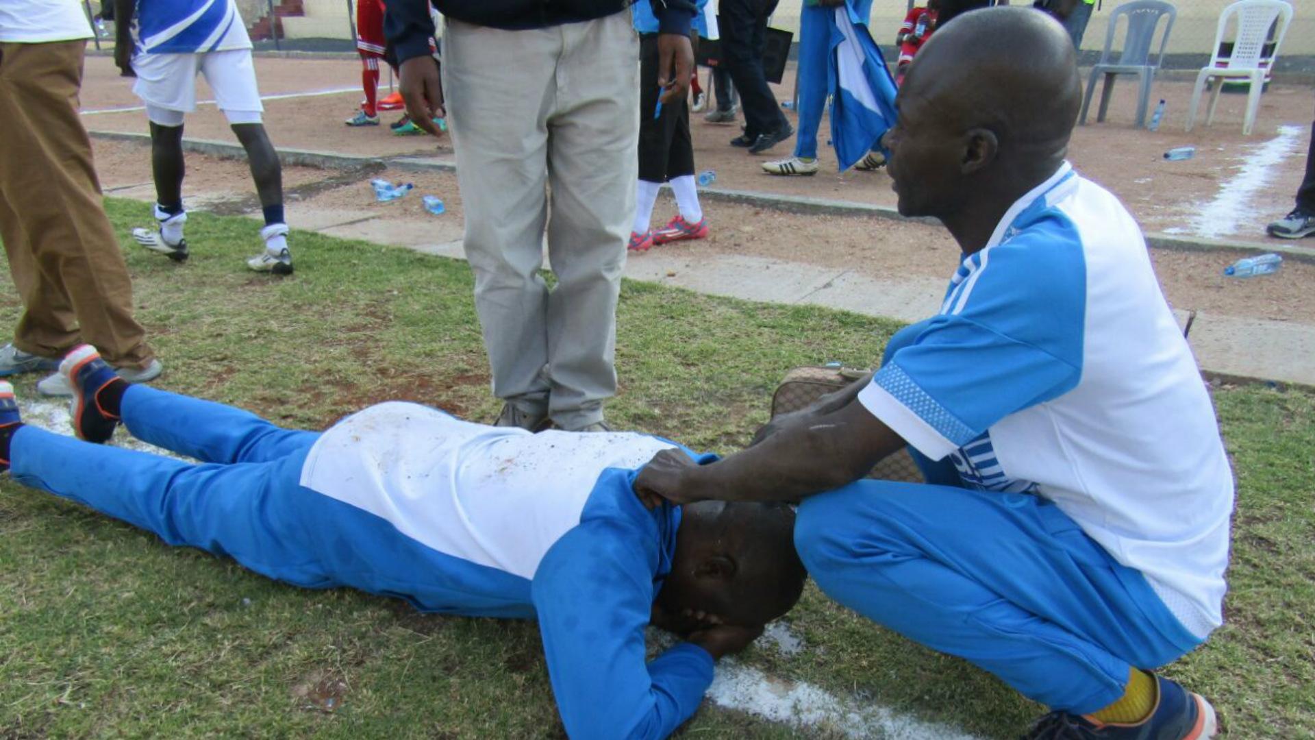 Sofapaka coach Sam Ssimbwa grounded