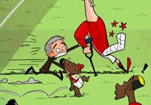 Será que o Manchester United ainda pode sonhar com voos mais altos, mesmo sem Ibra? O craque está fora do resto da temporada!
