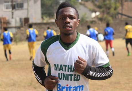 Mathare United player returns from injury