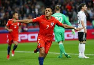 Un repaso por los jugadores que más goles han marcado con la camiseta de la Selección de Chile.
