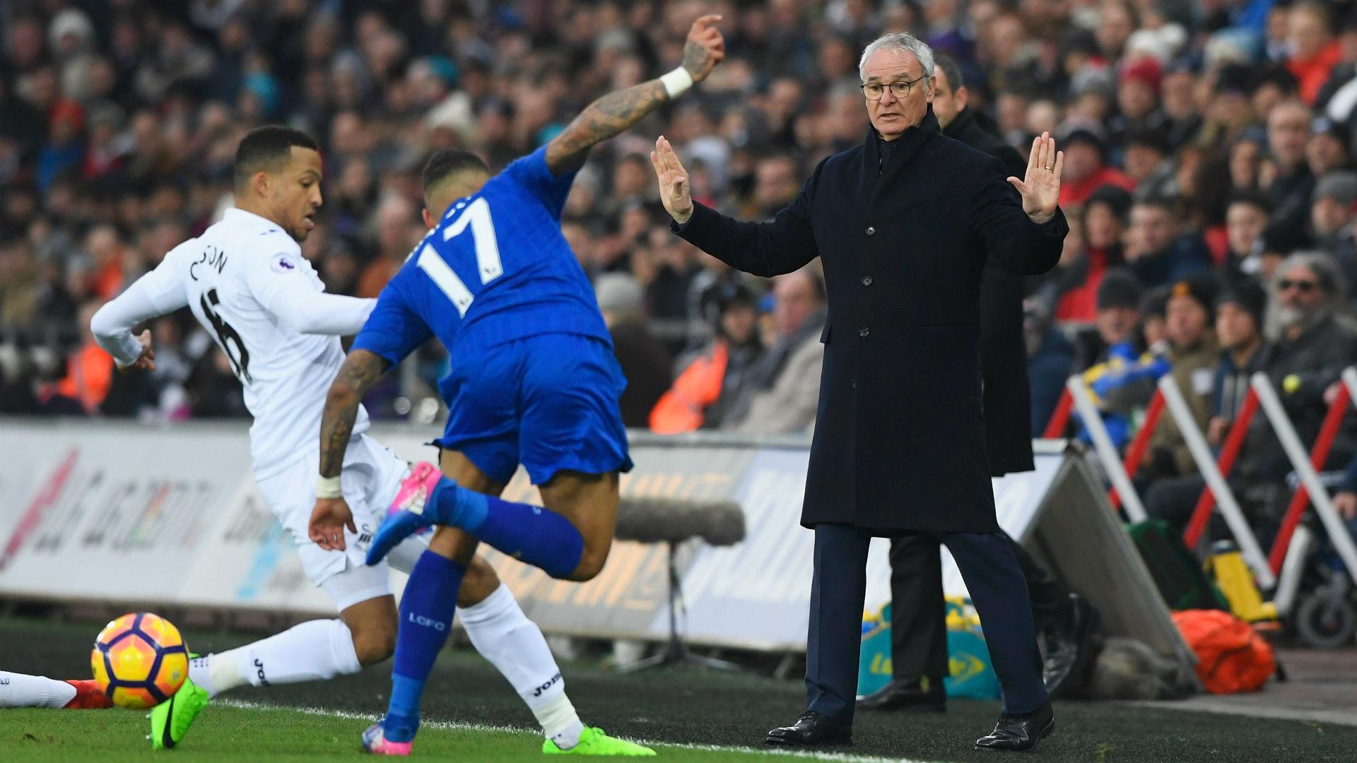 Swansea Leicester Claudio Ranieri