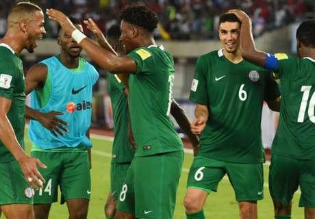 Nigeria climb up in October Fifa Ranking