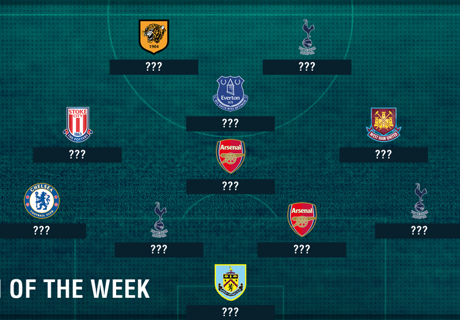 Kane dominates PL Team of the Week