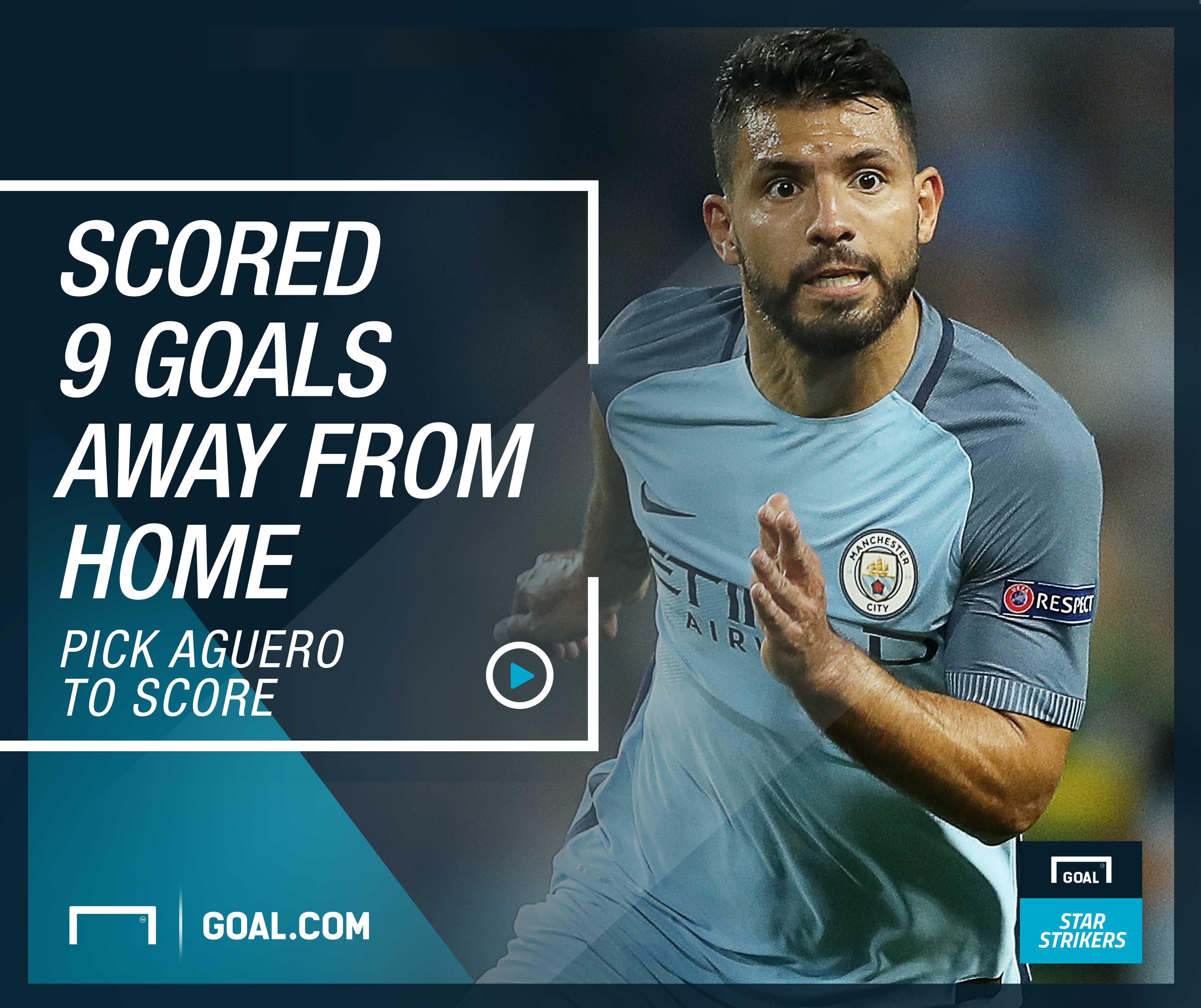 Goal Star Strikers - Aguero