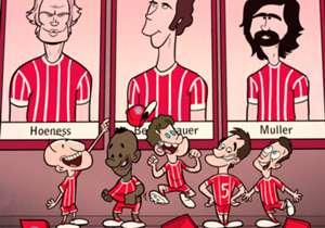 Bayern Münih'in yeni sezon formalarında nostalji rüzgarları esiyor.
