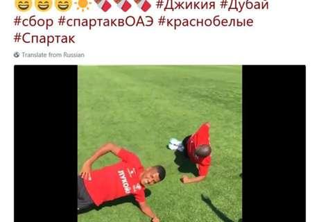 Le Spartak Moscou dérape sur Twitter
