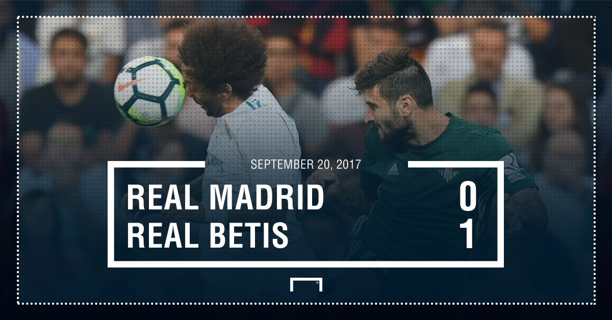 Real madrid Betis score