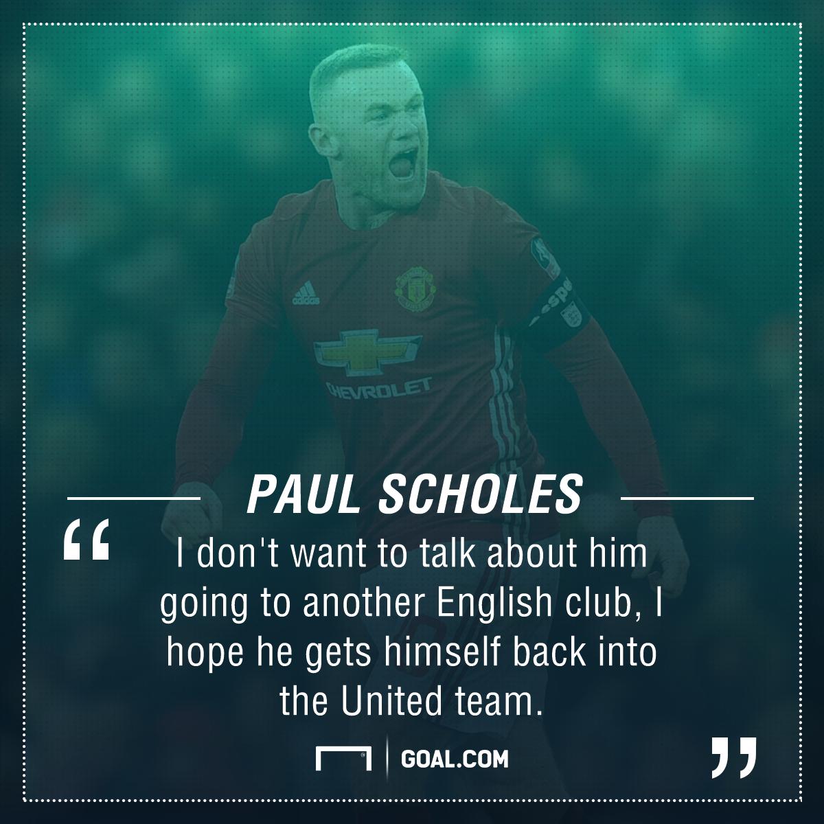 Paul Scholes Wayne Rooney