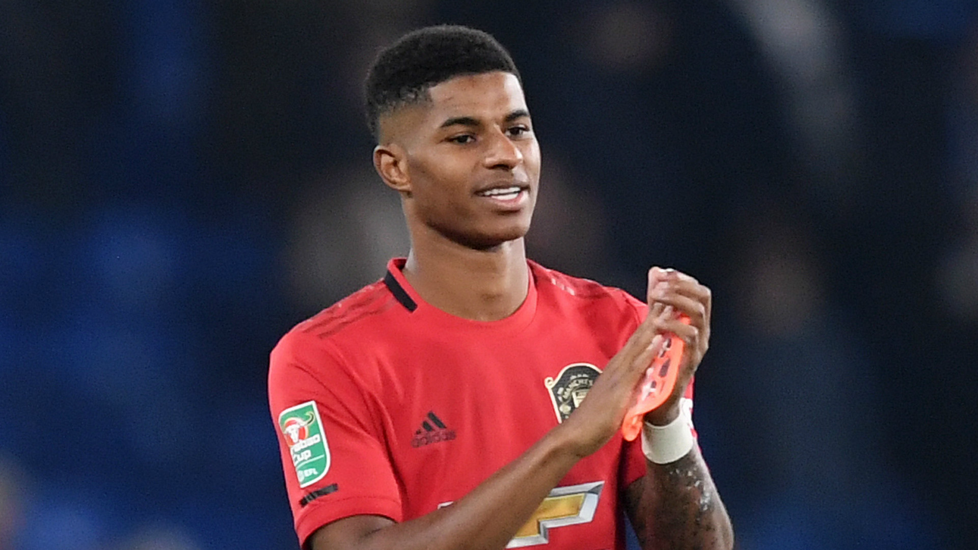 Rashford: It's a massive privilege to play for Man Utd