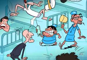 24 ENE | ¡La enfermería del Real Madrid está más llena que el camarote de los hermanos Marx!