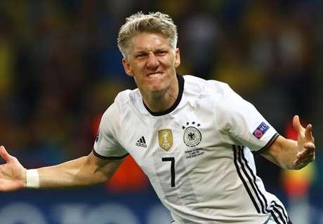 Schweinsteiger, addio alla Nazionale