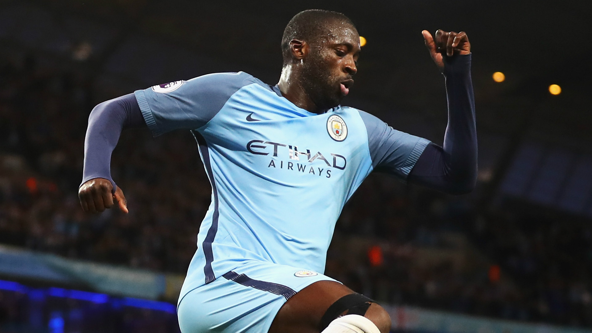 Yaya Toure Manchester City Premier League
