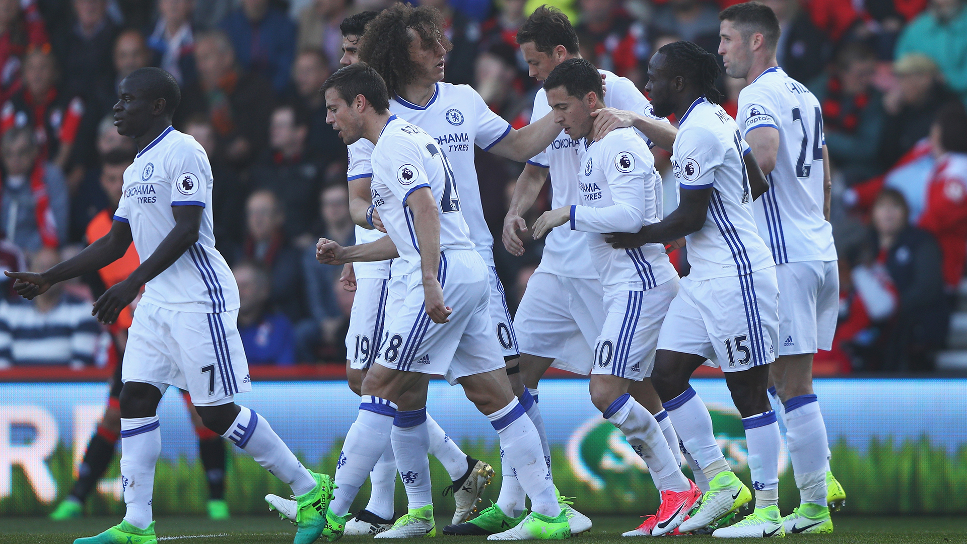 Eden Hazard Chelsea Bournemouth