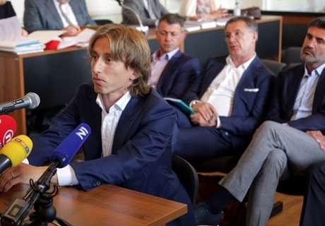 Modric, investigado por falso testimonio